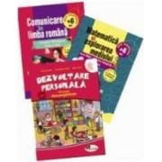 Set 3 caiete Comunicare in limba romana Matematica si explorarea mediului Dezvoltare personala - Clasa pregatitoare