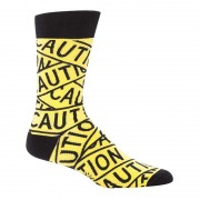 Sock It To Me Caution Tape Socks