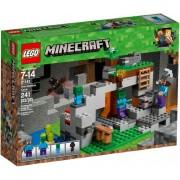 Lego Klocki konstrukcyjne LEGO Minecraft Jaskinia zombie 21141