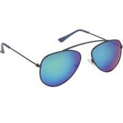 Arzonai Hartley MA-099-S8 Aviator Unisex Green Sunglasses