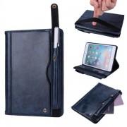 Fodral med ställ & Kortplatser iPad mini 4/3/2/1 Mörkblå