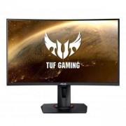 Монитор ASUS TUF Gaming VG27VQ, 27 инча FHD (1920x1080) VA Curved, 165Hz, Adaptive-Sync (FreeSync), 1 ms, ASUS-MON-TUF-VG27VQ