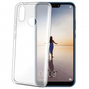 Capa de TPU Celly Gelskin para Huawei P20 Lite - Transparente