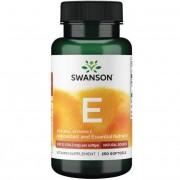 Swanson Vitamín E Přírodní 200 iu 250 kapslí - 250 kapslí