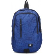 Nike Backpack(Grey, Blue)
