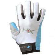 Harbinger Women's X3 Competition Open Finger Crossfit Fitness Handschoenen Blue/Gray/White - M
