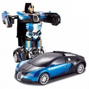 Generic Converting Car To Robot Transformer with Remot controller for Kids