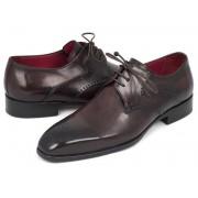 Paul Parkman Medallion Toe Derby Shoes Brown 6584-BRW