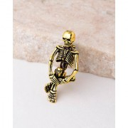 Dare by Voylla Evil Collection Skeleton Brooch