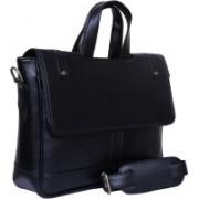 Attache 14 inch Laptop Messenger Bag(Black)