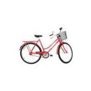 Bicicleta aro 26 Freio Varão Tropical 529 Monark - Vermelho