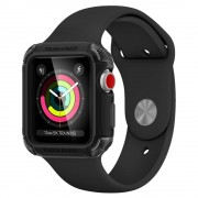 Spigen Pouzdro / kryt pro Apple Watch 42mm - Spigen, Tough Armor 2 Black