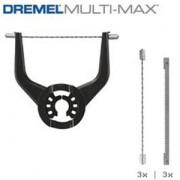 DREMEL MULTI-MAX - KIT MULTI-FLEX CON 6 LAME (M720JA)