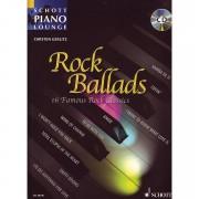 Schott Schott Piano Lounge Rock Ballads Notenbuch
