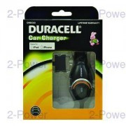 Duracell Billaddare 12v Apple iPhone 4s Mobiltelefon