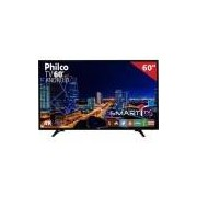"Smart TV LED 60"" PH60D16DSGWN Philco, 4K HDMI USB com Função Ginga e Wi-Fi Integrado"