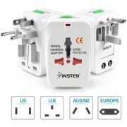 High Quality All In One International Universal Travel Power Adapter For (US AUS NZ Europe UK) (SP)
