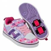 Heelys X2 Bolt Plus Light Pink/Lilac/Hearts