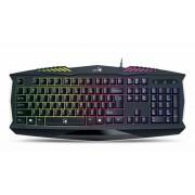 Billentyűzet, vezetékes, USB, HUN, gaming, GENIUS Scorpion K220 (GEBSK220)