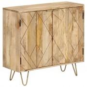 vidaXL Szafka z litego drewna mango, 80 x 30 x 75 cm