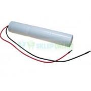 Akumulator 4000mAh 14.4Wh NiCd 3.6V 3xD 182x34.8mm wysokotemperaturowy
