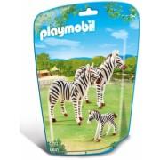 Familie de zebre City Life Zoo Playmobil