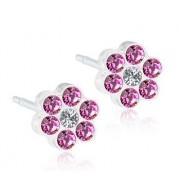 Blomdahl Gioiello Mp Daisy 5mm Rose Crystal