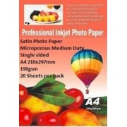 E-Box Satin Photo Paper- Microporous Coated