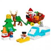 LEGO DUPLO Town Santa's Winter Holiday Set