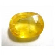 6.25 Ratti Certified Yellow Sapphire-Pukhraj Gemstone