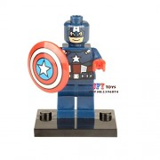Generic 50pcs Starwars Superhero Captain Rex Building Blocks Bricks Friends for Girl boy Kids Children Toys brinquedos menina 001