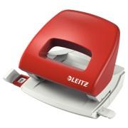 Perforator Leitz 5038, 16 coli, rosu