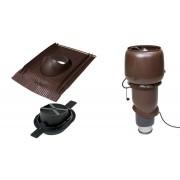 Vilpe 1003 ECO tetőventilátor szett páraelszívókhoz - barna