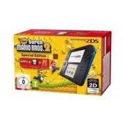 Nintendo 2DS Azul/Negra + Nuevo Super Mario 2