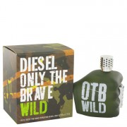 Diesel Only The Brave Wild Eau De Toilette Spray 4.2 oz / 124.2 mL Men's Fragrance 516118