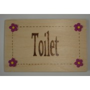 Toilet Door Plaque