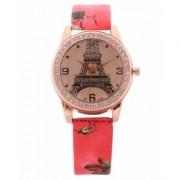 Miss Analog Paris Design Red Colour Womens Watches Ladies Watches Girls Watches Designer Watches