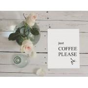 Tablou Just coffee