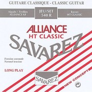 Savarez 540R Alliance Classical Guitar Strings Standard Tension Red Card