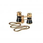 Eschenbach Binocolo da Teatro Opera glasses Glamour 3x25 black-gold con catenella