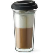 SIMAX Latte kávéspohár fedéllel, 0,4 l-es