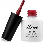 Popfeel Lasting Rojo Serie Laca De Uñas Nail Gel-PR03