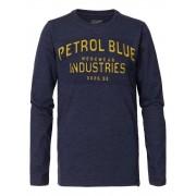 Petrol T-shirt Uomo a Maniche Lunghe, Taglia: XL, Per adulto Uomo, Blu, TLR640-5082