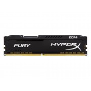 HYPERX Memoria RAM KINGSTON 8 GB DDR4 2400 Mhz HyperX Fury Negra