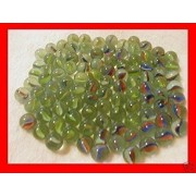 200 Pieces Cats Eyes Glass Marble / Sling Shot Ammo by Trading
