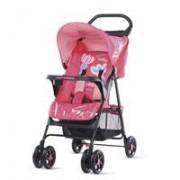 Chipolino Baby Max kišobran kolica Carolina pink