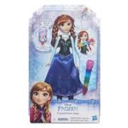 Papusa Hasbro Disney Frozen Doll Fashion Crystal Glow Anna