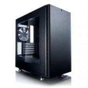 Кутия Fractal Design Define Mini C, Micro ATX/ITX, 2x USB 3.0, прозорец, черна, без захранване