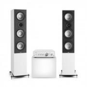 Numan Drive 802, стерео комплект, усилвател, фронтален високоговорител, бяло/бял (Drive 801 - W1)