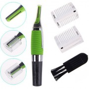 gupta Micro Touch Max Personal Ear Nose Neck Eyebrow Hair Trimmer - Green